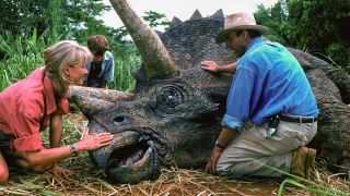 An image from Jurassic Park