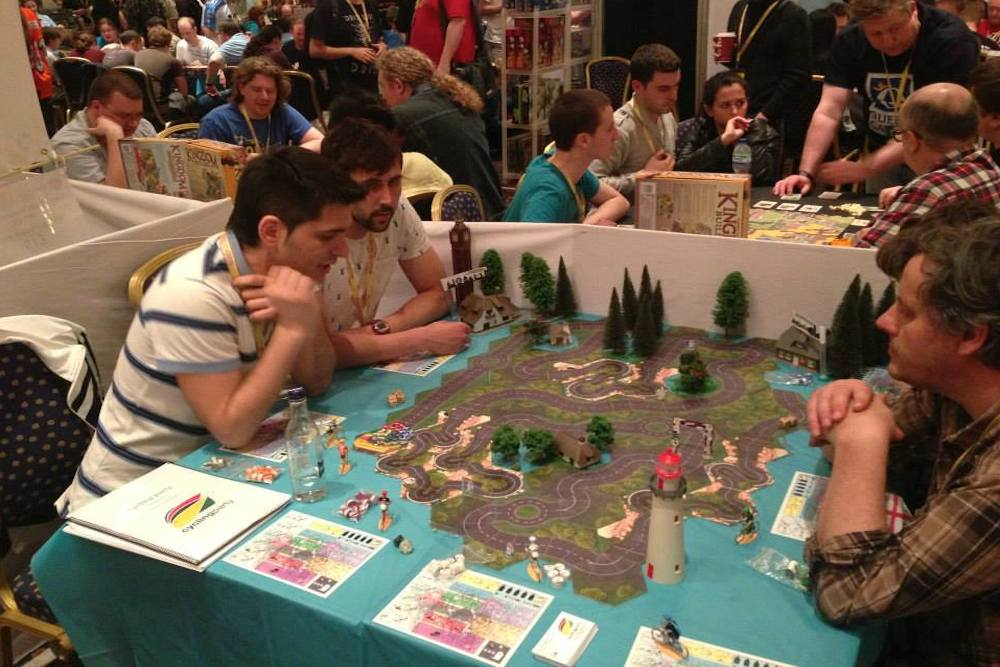 new cycling board game brings the fun of the tour to your table