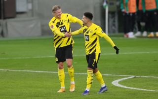 Erling Haaland and Jadon Sancho