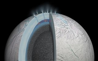 Enceladus Cross-Section