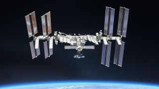 The International Space Station, as seen in 2018.
