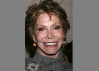 Mary Tyler Moore, photographed in 2008.
