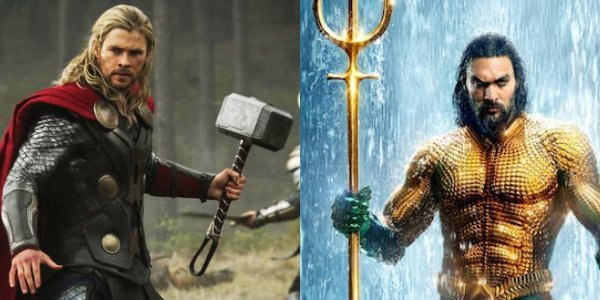 Has Thor's hammer met his match with Aquaman's trident?
