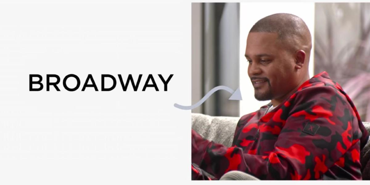 Bumper Robinson as Broadway in #blackAF