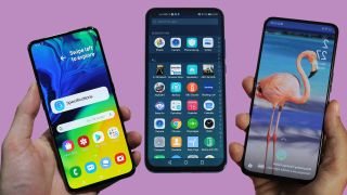 Samsung Galaxy A80 vs Oppo Reno vs Honor View 20: which is