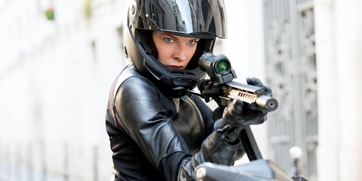 Rebecca Ferguson in Mission: Impossible Fallout