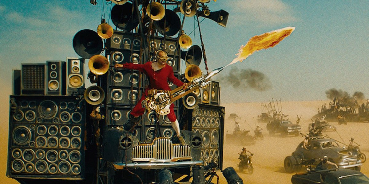 The Doof Warrior in Mad Max: Fury Road