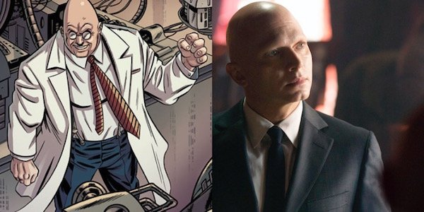 Egghead from comics and Michael Cerveris