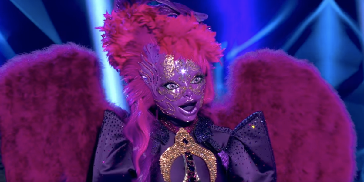 the masked singer fox night angel kandi burruss
