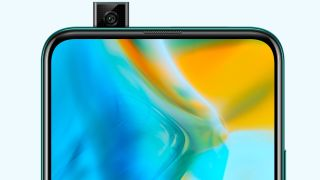 The Huawei P Smart Z is the company's first phone with a pop