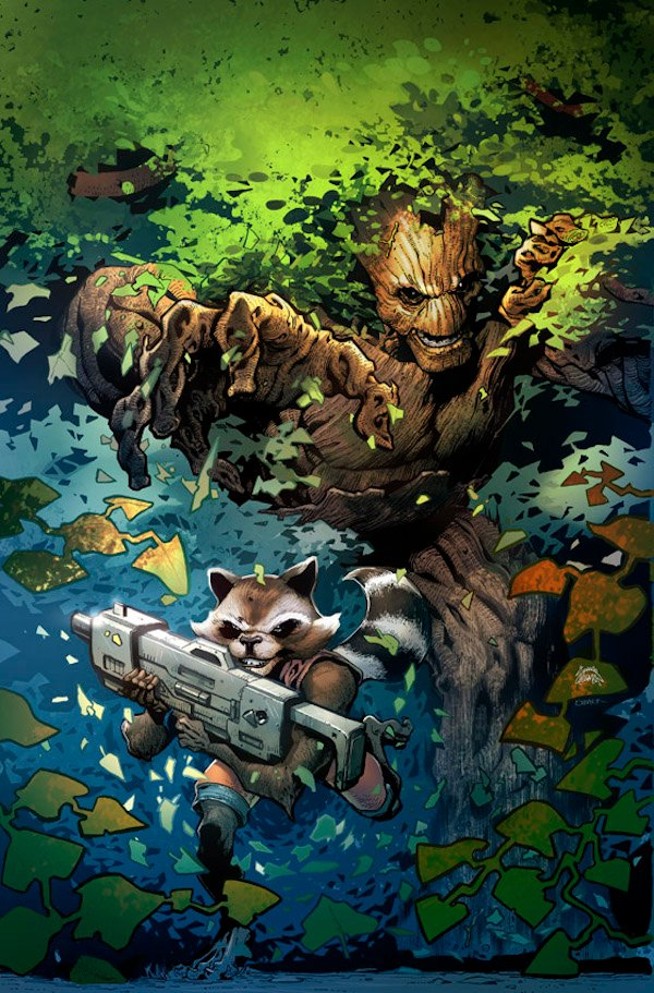 Groot's Latest Adventure Will Separate Him From Rocket Raccoon #32787