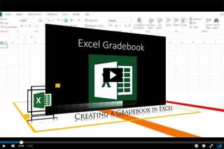 Video Tutorial: Creating a Gradebook in Excel
