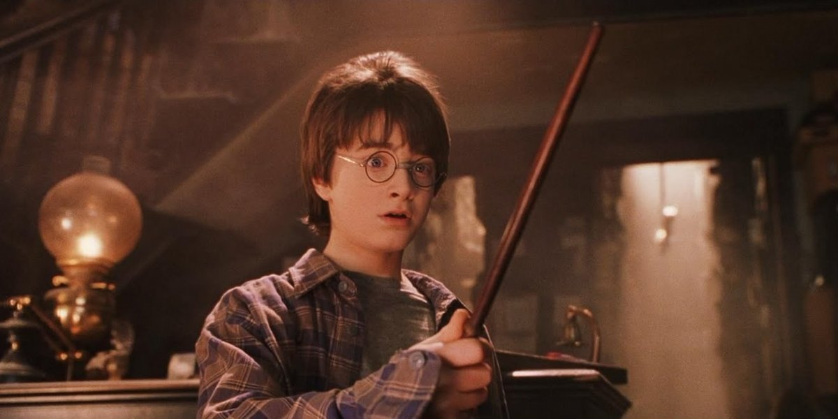 Daniel Radcliffe in Harry Potter and the Sorcerer's Stone