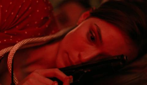 Love and murder in 'Flinch.'