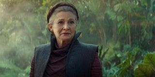 Carrie Fisher Leia Last Jedi