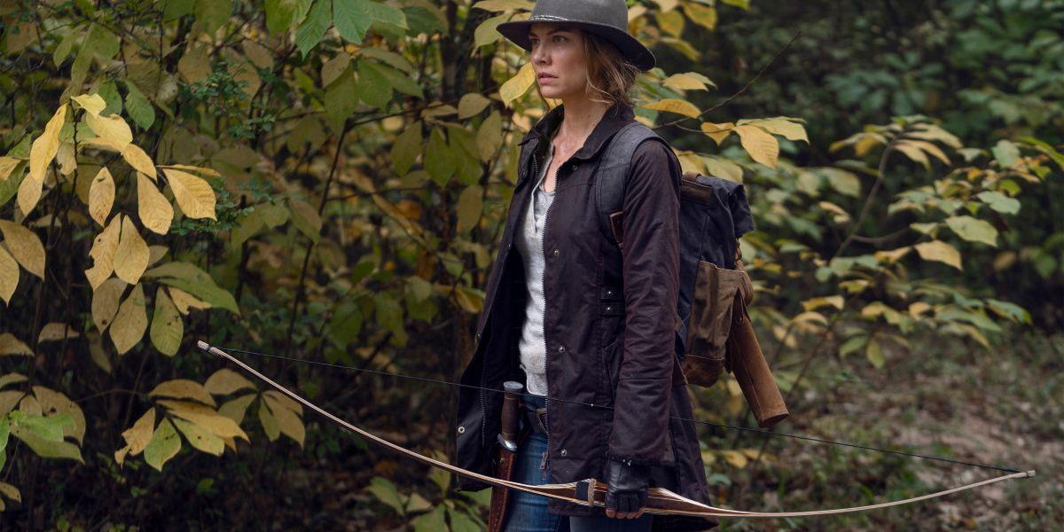 Maggie in The Walking Dead.