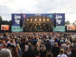 JBL Professional VTX Line Arrays at Hove Festival