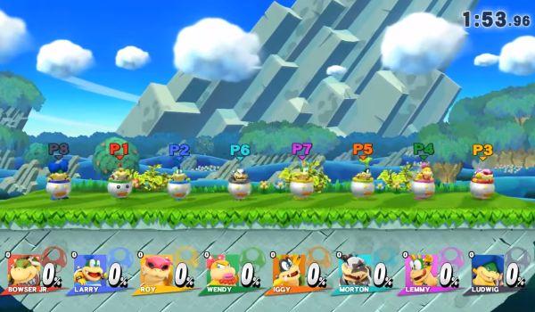 Koopa Kids from Super Smash Bros