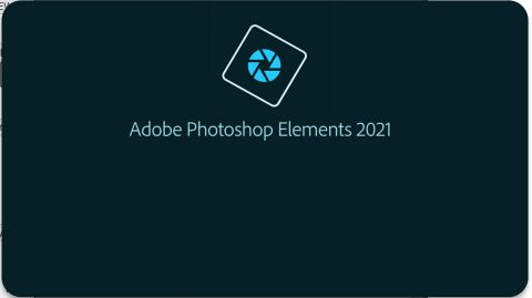 Adobe Photoshop Elements review: image of logo and text