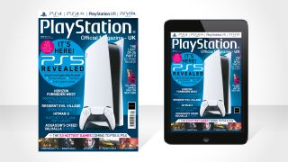 An image of Official PlayStation Magazine issue 177 with PS5 on cover