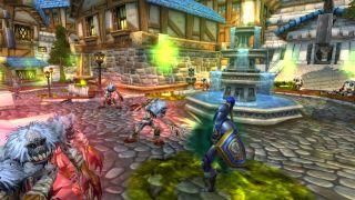 World of Warcraft screenshot.