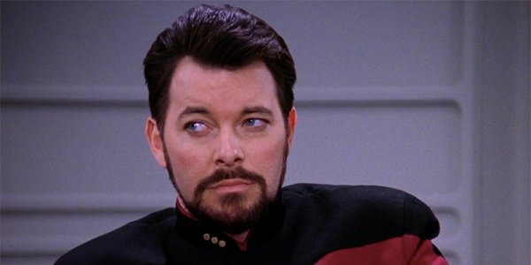 Riker Jonathan Frakes Star Trek: The Next Generation