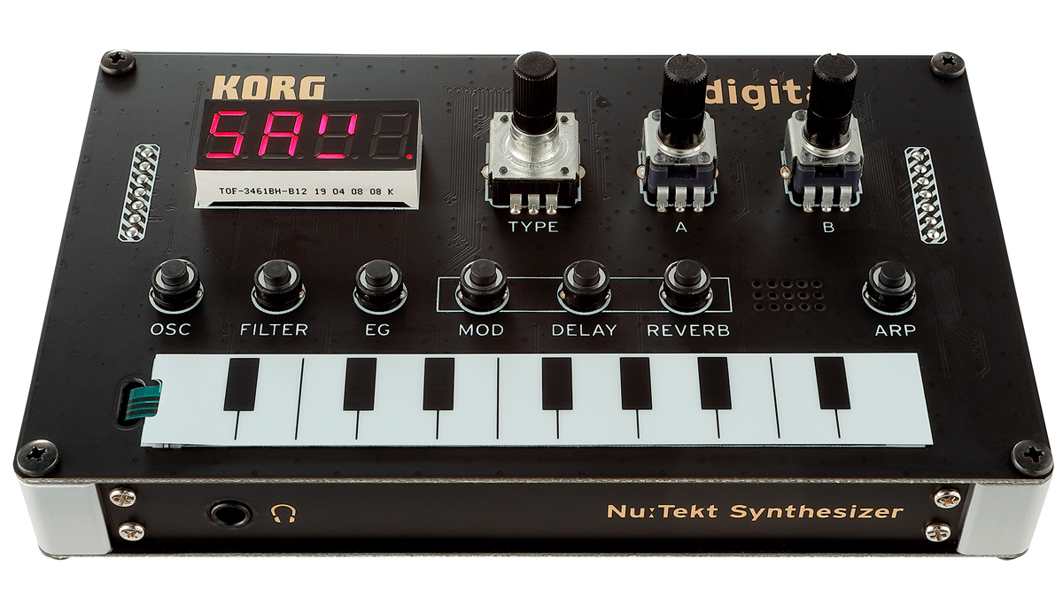 Korg's $100 Nu:Tekt NTS-1 synth is the only thing you'll