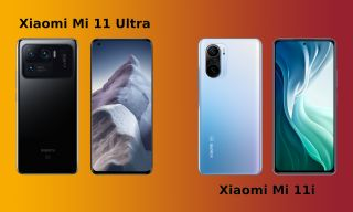 Xiaomi Mi 11 Ultra (izquierda) y Mi 11i (derecha)