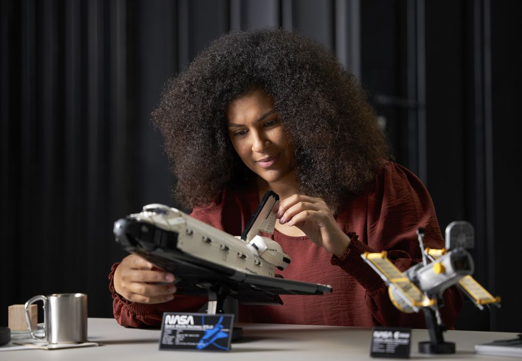 This epic new Lego space shuttle set will let you recreate NASA's Hubble Space Telescope mission