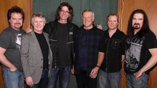 rik emmett with alex lifeson and james labrie