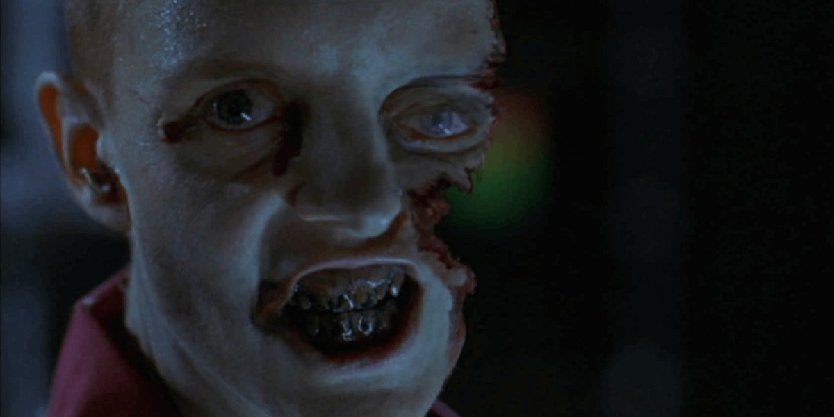 A zombie in Resident Evil