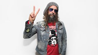 A photograph of Rob Zombie taken in 2016