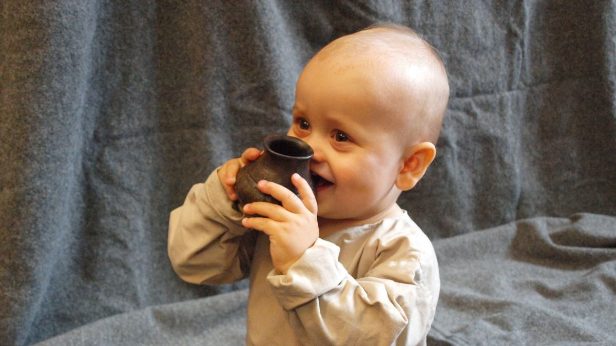 Babies Drank from Ancient 'Sippy Cups' Thousands of Years Ago
