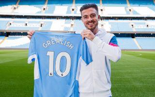 Manchester City midfielder Jack Grealish
