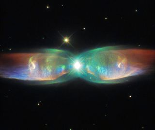 Hubble View of Dying Stars' Jets