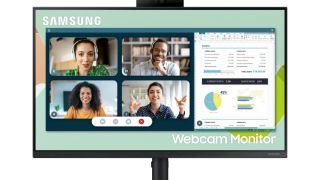 Samsung has unveiled a new 24-inch webcam monitor