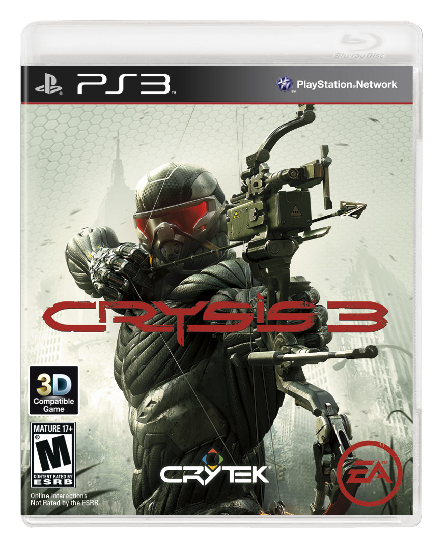 Crysis 3 Box Art: Prophet Armed With Box #25370