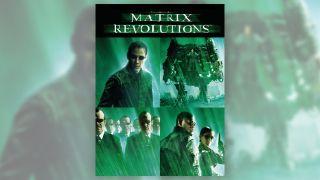 The Matrix Revolutions DVD cover