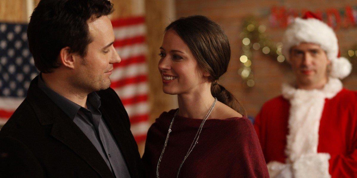 Amy Acker and David Haydn-Jones in Dear Santa