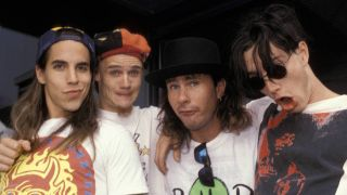 Red Hot Chili Peppers in 1989