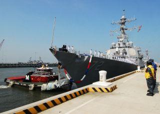 USS Mahan at Naval Station Norfolk