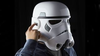 Star Wars Stormtrooper helmet with voice changer