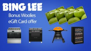 Bing Lee bonus Woolies e-gift card offer