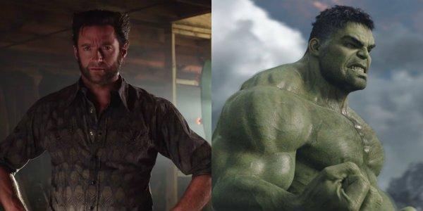 Hugh Jackman Wolverine X-Men Days of Future Past Hulk Mark Ruffalo Thor: Ragnarok