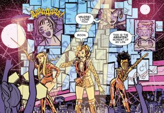 Josie and the Pussycats are heading into outer space in a new digital-first series.