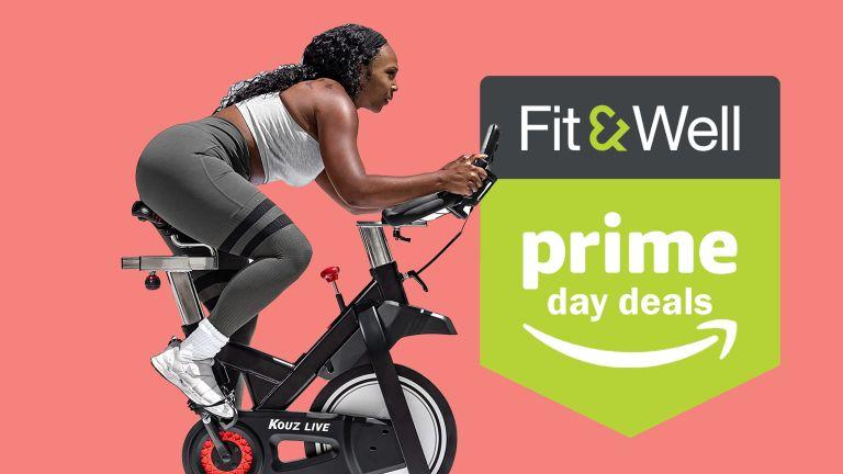 Kouz Live exercise bike deal Amazon Prime Day