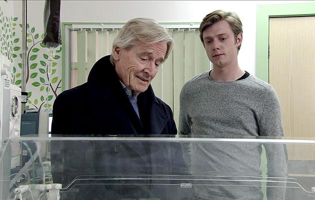 Coronation Street spoilers: Ken Barlow supports Daniel at the hospital