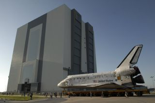 Space Shuttle Discovery Moves Closer to August Launch