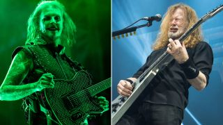 [L-R] John 5 and Dave Mustaine