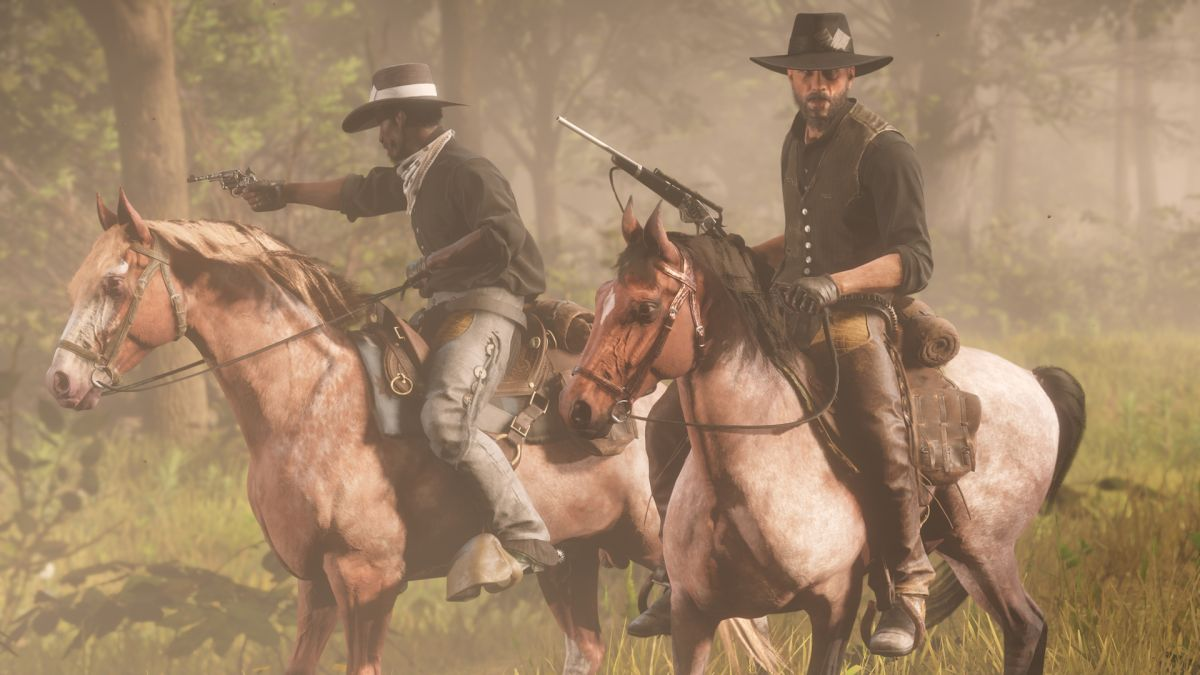 Red Dead Online Is The Best Way To Experience Red Dead Redemption 2 S Epic Open World Gamesradar